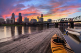Sunset Landscape of Portland, Oregon, USA. - 102474584