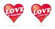 Постер, плакат: la saint valentin le 14 f