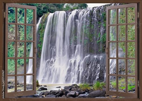 Plakat Santa Cruz falls
