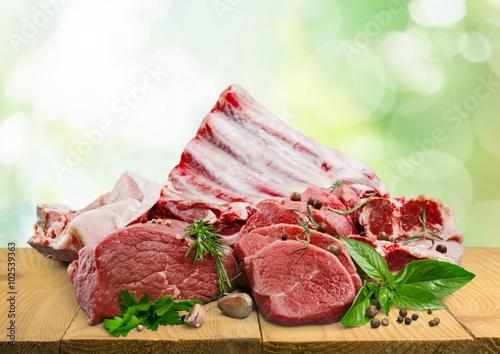 fototapeta na ścianę Meat.