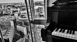 Fototapety Music over the London scene