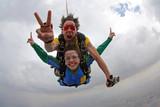 Skydiving tandem szczęścia