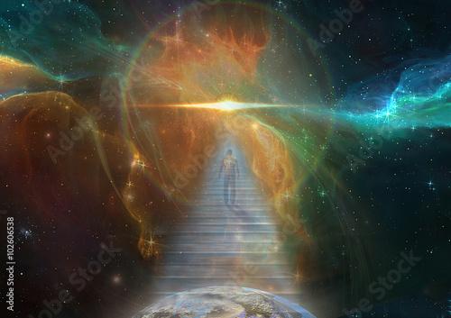 Poster Cosmic Stairway