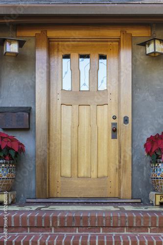 Arts And Crafts Front Door