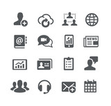 Business Communications Icons - Utility Series