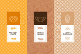 Fototapety Vector set of design templates and elements