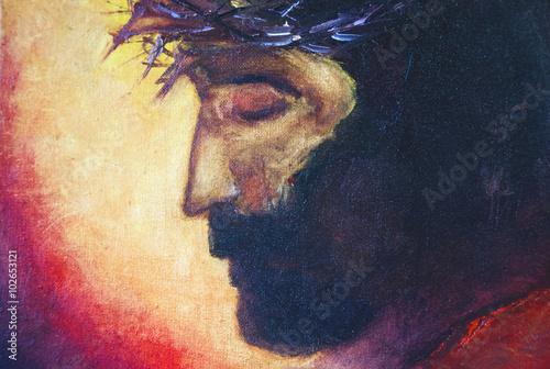Zdjęcia na płótnie, fototapety, obrazy : Jesus Christ oil painting