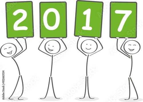 GamesAgeddon - Strichmännchen wünschen ein glückliches neues Jahr ...