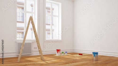 renovierung vor umzug in wohnung stockfotos und lizenzfreie bilder auf bild. Black Bedroom Furniture Sets. Home Design Ideas