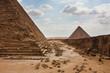Great Pyramid at Giza Plateau