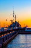 Molo w Sopocie o świcie