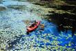 People canoeing