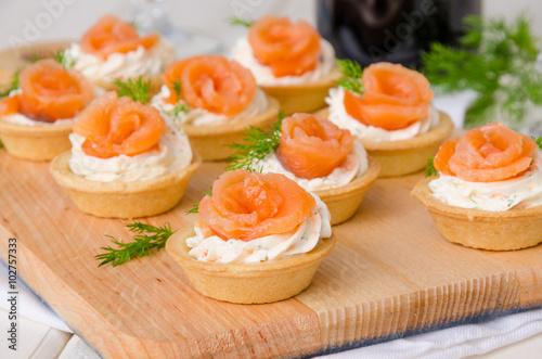 Тарталетки с рыбой рецепты с фото