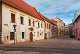 street in old Krakow, Poland