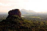 The monument of Sigiriya rock. Sri Lanka. Asia.