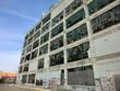 Abandoned Detroit Michigan factory warehouse industrial building - landscape color photo