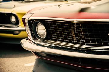 Klasyczne amerykańskie samochody