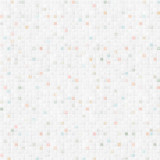 Fototapety tile wall background with white and colorful pieces