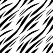 Materiał do szycia Animal abstract print monochrome seamless pattern