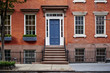 a beautiful brownstone apartment building