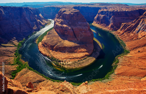fototapeta na ścianę Horseshoe bend, Colorado river, Page, Arizona