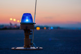 Fototapety Taxiway lights, side row lights