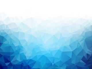 Geometryczne lód niebieski tekstura tło