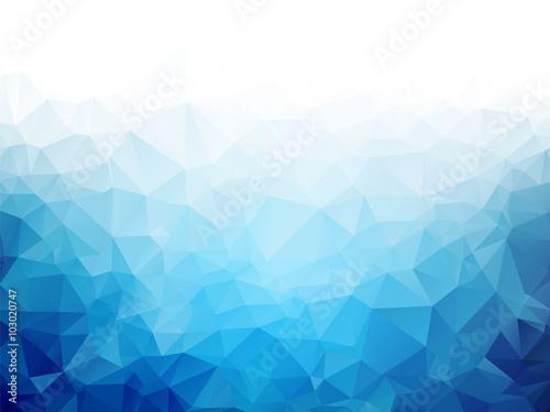 Geometryczny błękita lodu tekstury tło