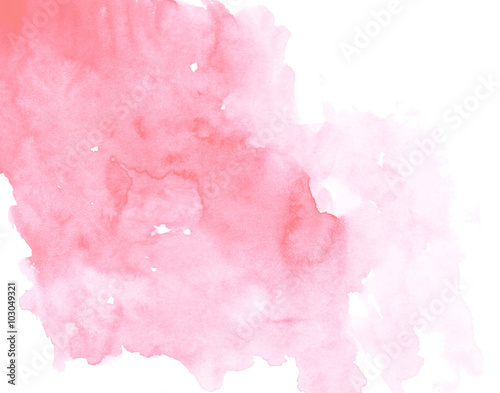 Colorful watercolor background. Abstract art hand paint - 103049321