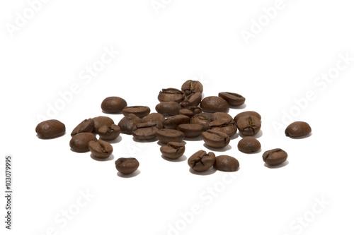 Papiers peints Café en grains roasted brown coffee beans isolated