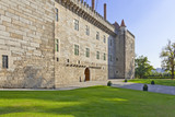 Palace of the Duques of Braganza, a medieval palace and museum in Guimaraes, Portugal. Unesco World Heritage Site.