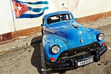 Rocznika samochodu w Hawanie, na Kubie