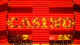 Word Casino in Neon Lights - Las Vegas