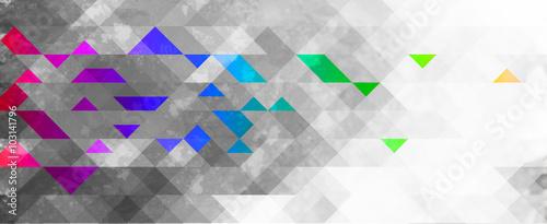 abstrakcyjne tło geometryczne kolorowe  - 103141796