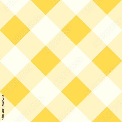 Yellow White Diamond Chessboard Background Vector Illustration - 103170363