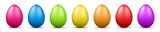 Fototapety colorful easter eggs vector graphic