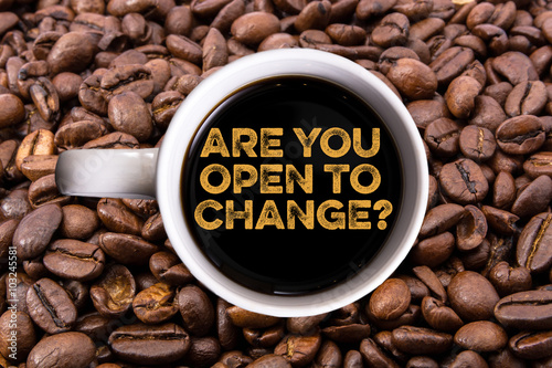 Poster Are you open to change?