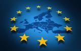 union européenne europe drapeau européen ou parlement européen - 103281789
