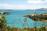 From Waiheke Island. Looking towards Auckland, New Zealand - 103311930