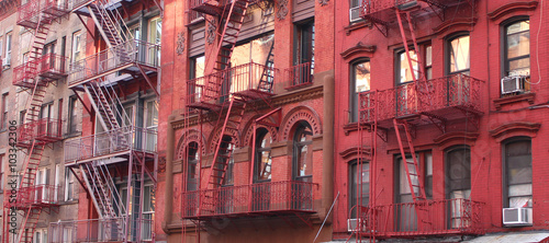 New York City / Fire escape - 103342306
