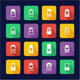 Avatar Icons Famous Musicians Set 2 Flat Design
