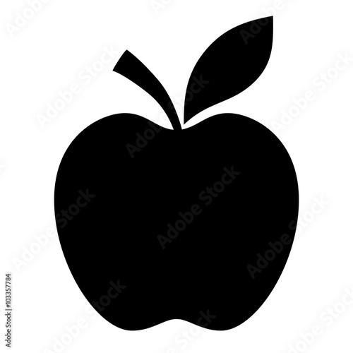 Apple vector shape - 103357784
