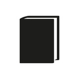 Fototapety black book simple icon