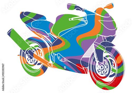 Fototapeta Pop art, moto