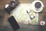 Fototapety travel items