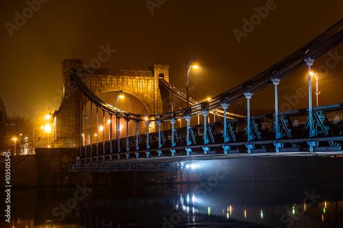 Fototapeta Wrocław Most Grunwaldzki
