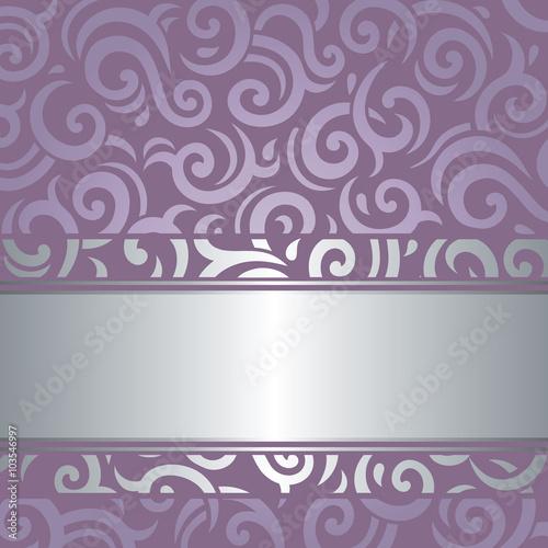 """Lavender Background Wedding: """"Lavender Violet Wedding Vintage Background Design"""" Stock"""