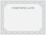 Horizontal certificate template - 103559996