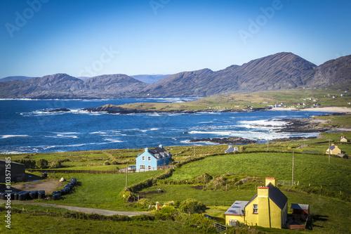 "Nordseite des ""Ring of Beara"", kurz vor Allihies, County Kerry, Irland Poster"