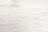 Fototapety Distressed and Weathered White Wood Background